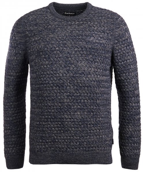 Barbour Lambswool Waffle Knit Rhine Jumper