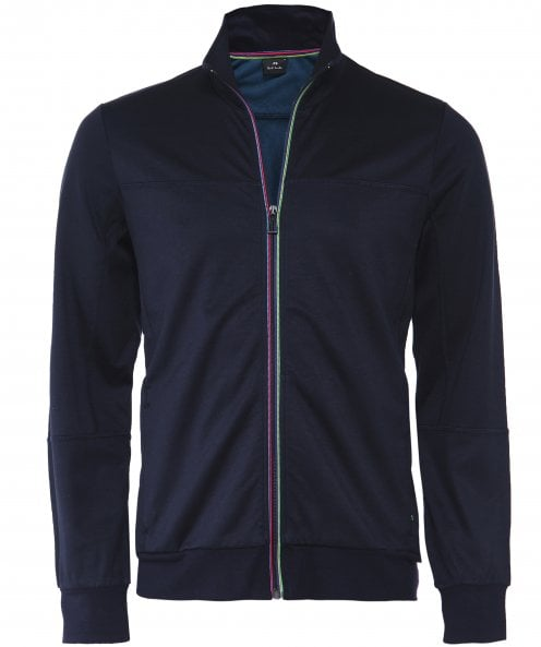PS by Paul Smith Viscose Blend Zip-Through Sweatshirt