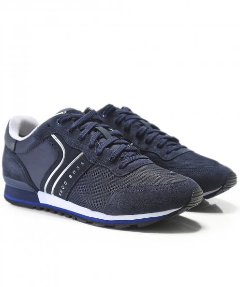 BOSS Athleisure Leather Parkour_Runn_nymx Trainers