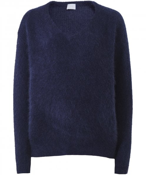 CT Plage Cashmere Blend V-Neck Jumper