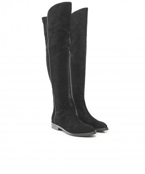 Le Pepe Suede Over The Knee Boots