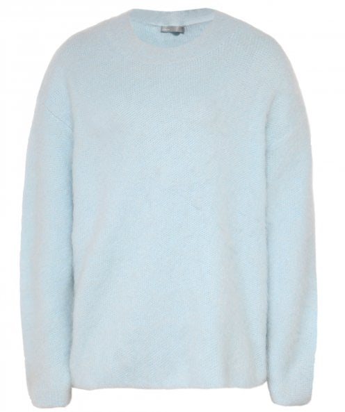 Vince Brushed Oversized Crew Neck Jumper
