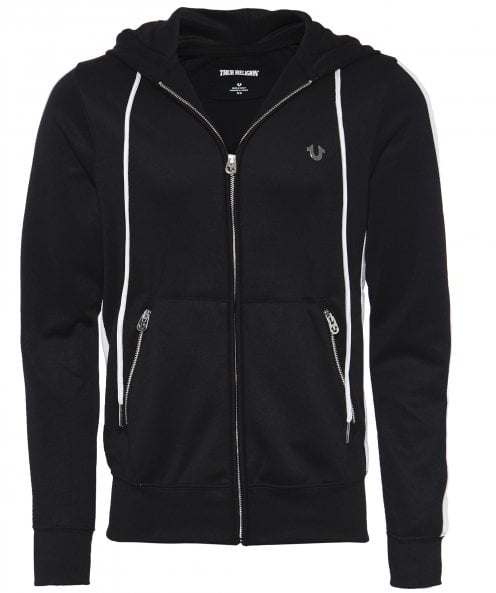 True Religion Contrast Panel Hoodie