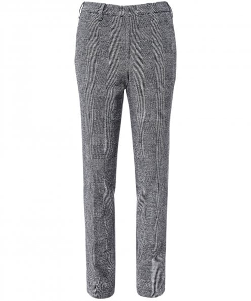 Baldessarini Slim Fit Prince of Wales Check Trousers