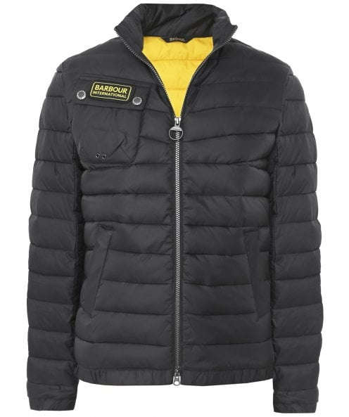 Barbour International Quilted Chain Jacket