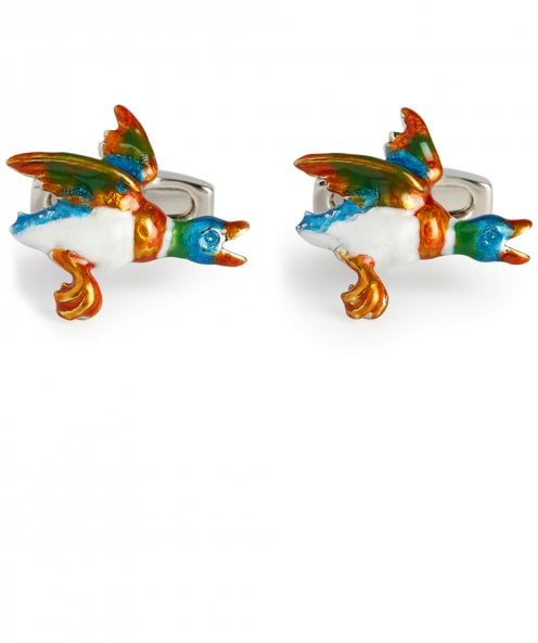 Simon Carter Flying Duck Cufflinks