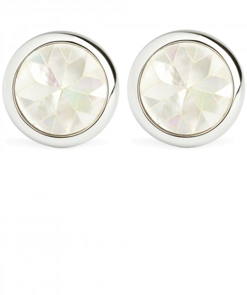 Simon Carter Mother-of-Pearl Kaleidoscope Cufflinks
