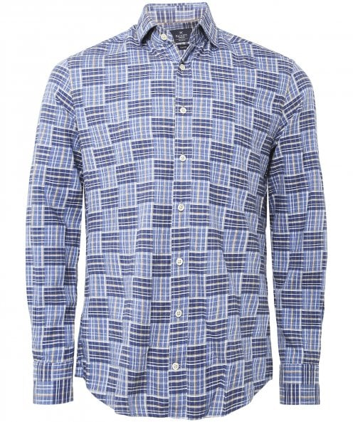 Hackett Cumbria Patchwork Shirt