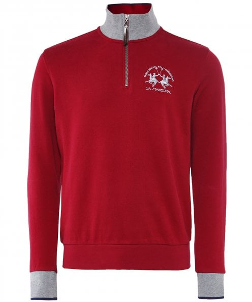 La Martina Half-Zip Natanael Fleece