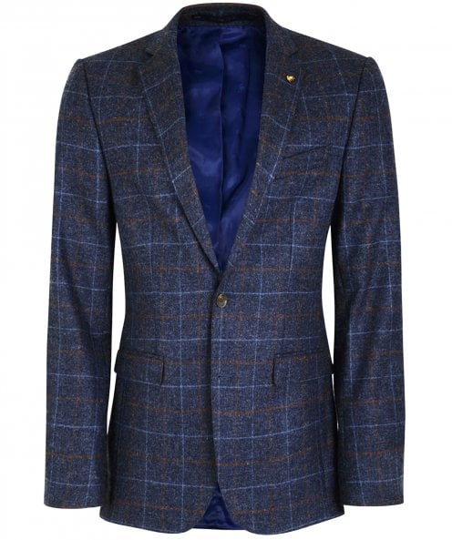 Magee New Wool Blanket Check Finn T2 Jacket