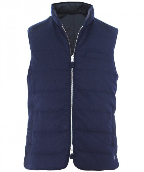 Stenstroms Down Quilted Reversible Gilet
