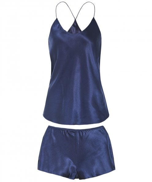 Olivia Von Halle Silk Cami and Short Set