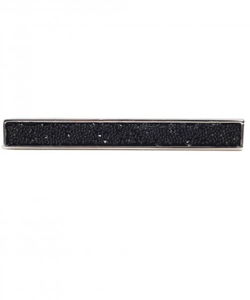 Simon Carter Swarovski Crystal Fabric Tie Clip