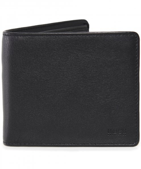 BOSS Leather Majestic S_4 cc coin Wallet