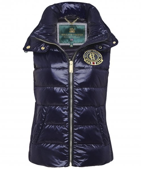 Holland Cooper Megeve Shiny Gilet
