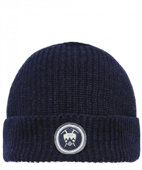 Edmund Hillary New Wool Ribbed Beanie Hat