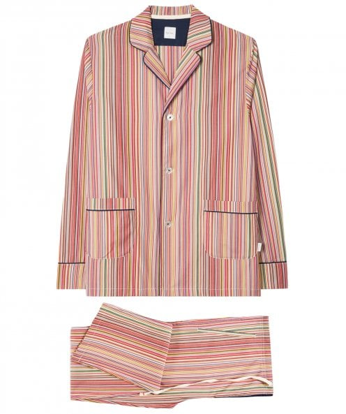 Paul Smith Cotton Signature Stripe Pyjamas