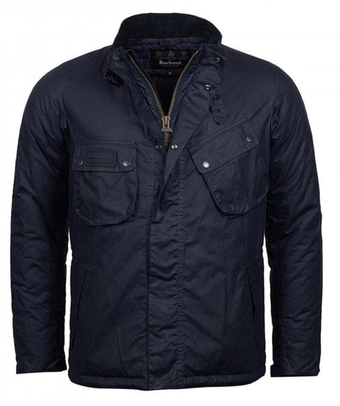 Barbour International Waxed Lever Jacket