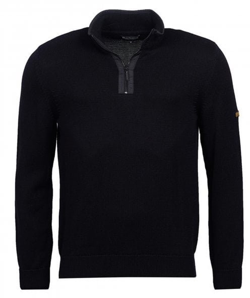 Barbour International Cotton Half-Zip Trap Jumper