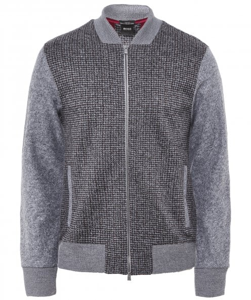 BOSS Virgin Wool Blend Salea 14 Cardigan