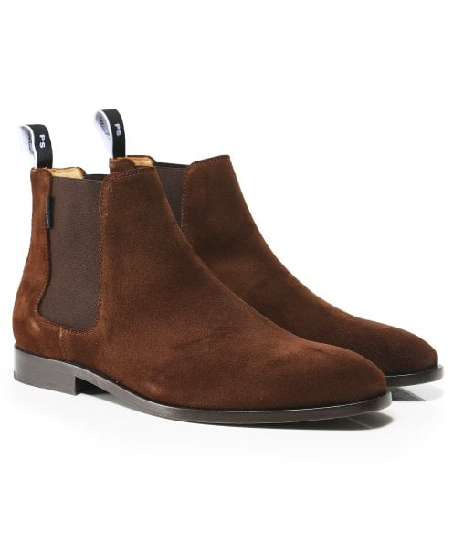 PS by Paul Smith Suede Gerald Chelsea Boots