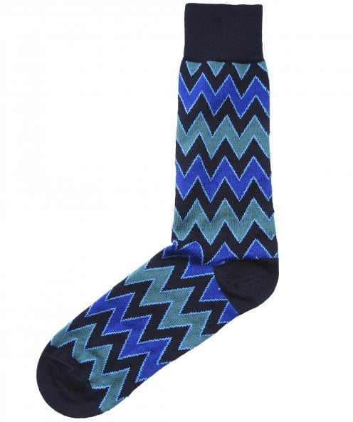 Paul Smith Zig Zag Stripe Socks