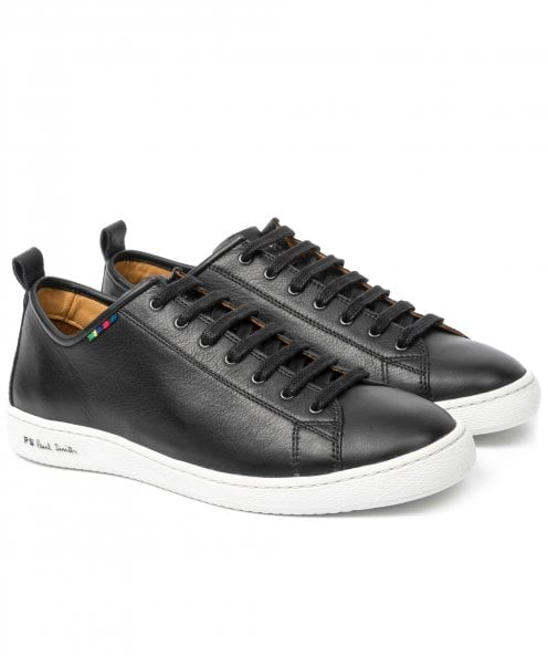PS by Paul Smith Leather Miyata Trainers