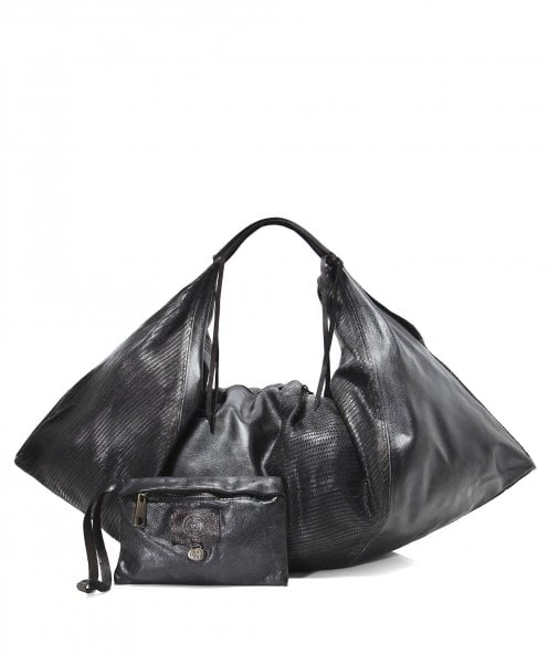 Alchimia Leather Slouchy Shopper Bag