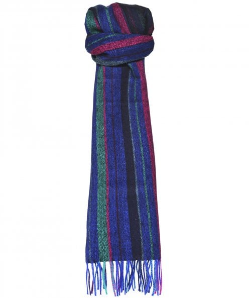 Paul Smith Lambswool College Stripe Scarf