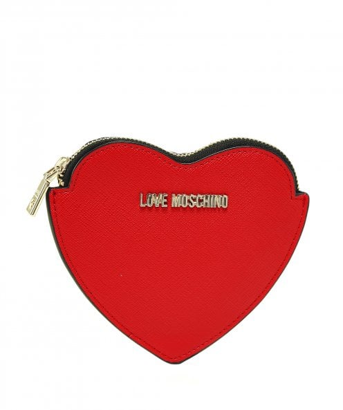 Moschino Love Moschino Heart Shaped Wallet