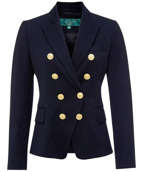 Holland Cooper Wool Knightsbridge Blazer