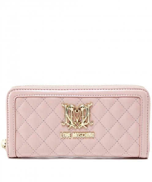 Moschino Love Moschino Quilted Logo Purse
