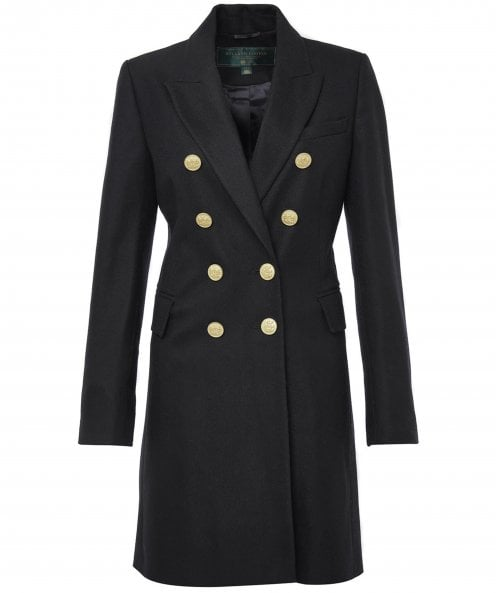 Holland Cooper Wool Knightsbridge Tailored Coat