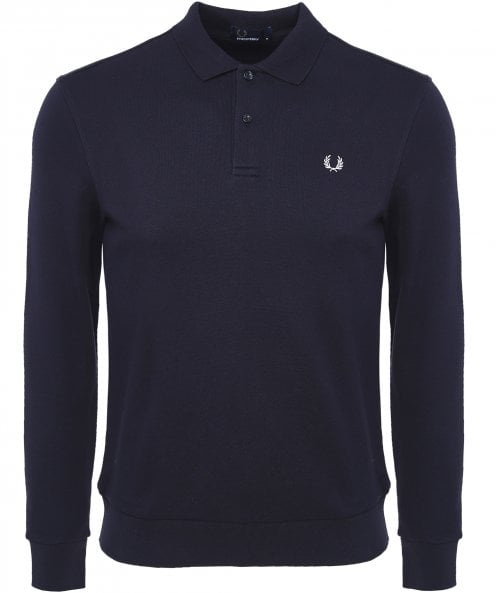 Fred Perry Fleeceback Polo Shirt M5508 608