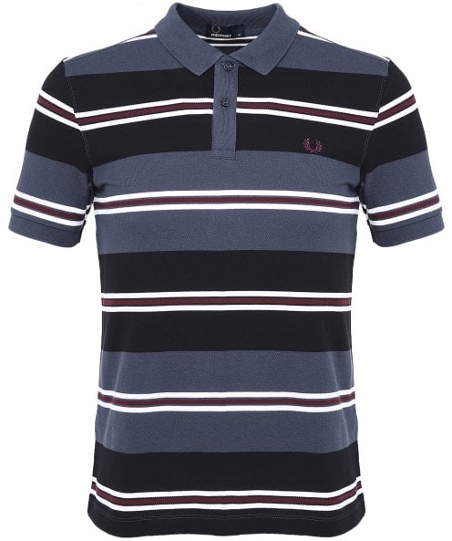 Fred Perry Contrast Stripe Polo Shirt M5507 102