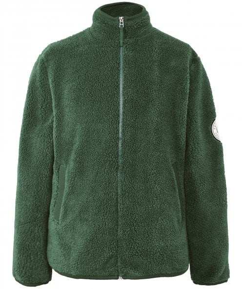 Fred Perry Zip Through Borg Fleece