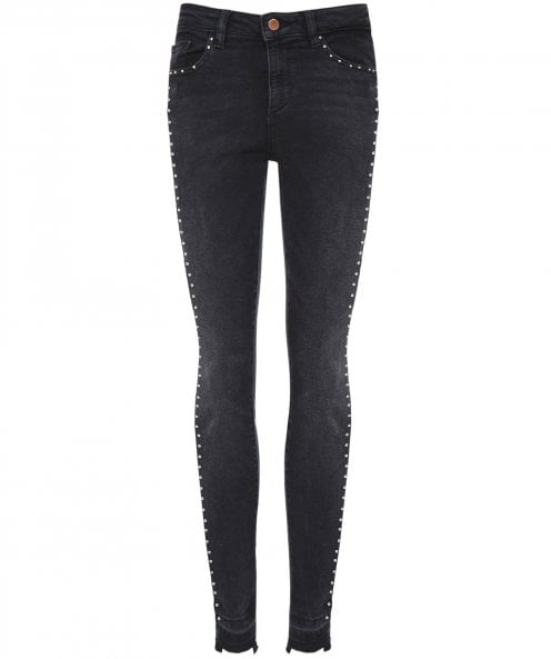 DL1961 Chrissy Studded Skinny Jeans