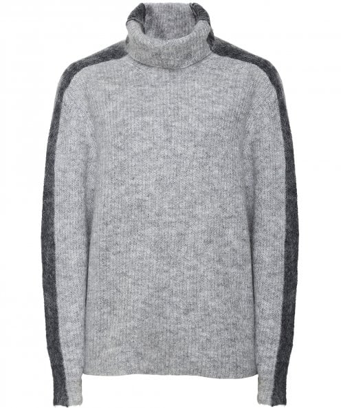 Ganni Wool Blend Callahan Roll Neck Jumper