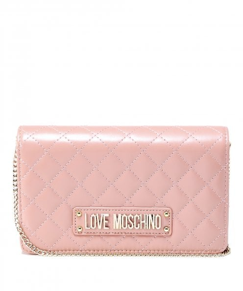 Moschino Love Moschino Small Quilted Shoulder Bag
