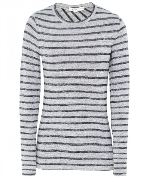 Rag and Bone Striped Long Sleeve Top