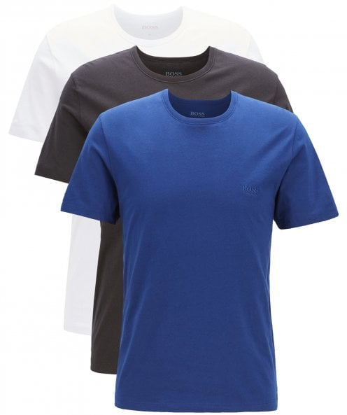 BOSS Regular Fit Three Pack of T-Shirts