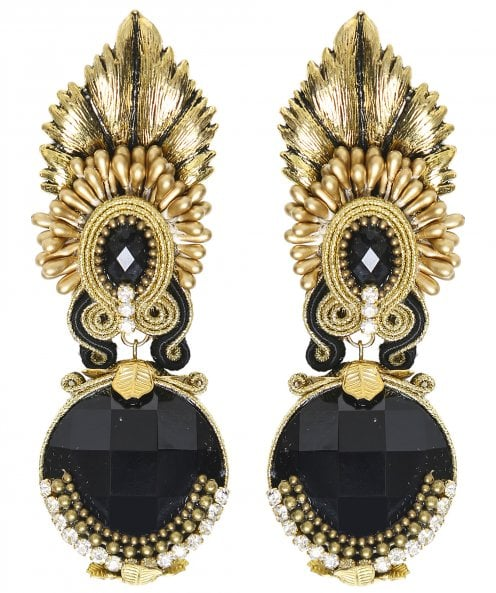Candela de Reina Veracruz Large Jewel Earrings