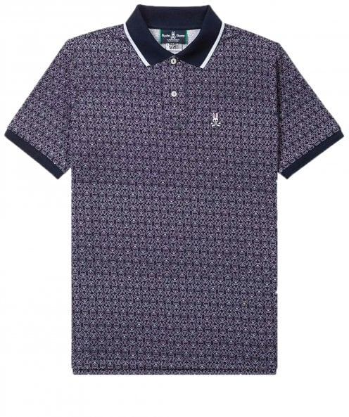 Psycho Bunny Pima Cotton Breydon Polo Shirt