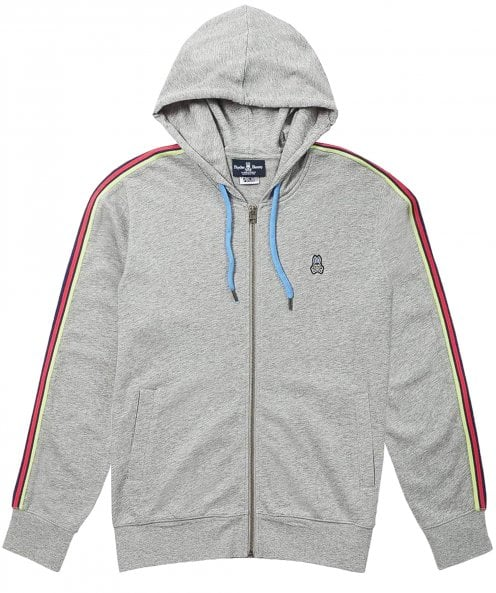 Psycho Bunny Zip-Through Lendal Hoodie