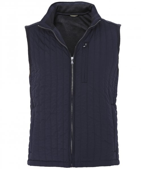 Hackett Knitted Channel Gilet