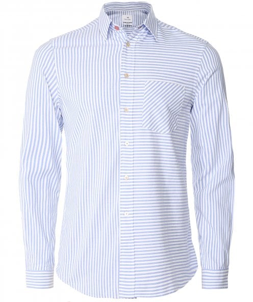 PS by Paul Smith Slim Fit Striped Oxford Shirt