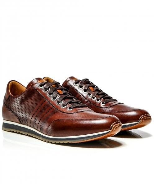 Magnanni Leather Bolton Trainers
