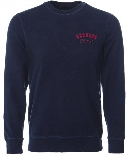 Barbour Crew Neck Preppy Sweatshirt