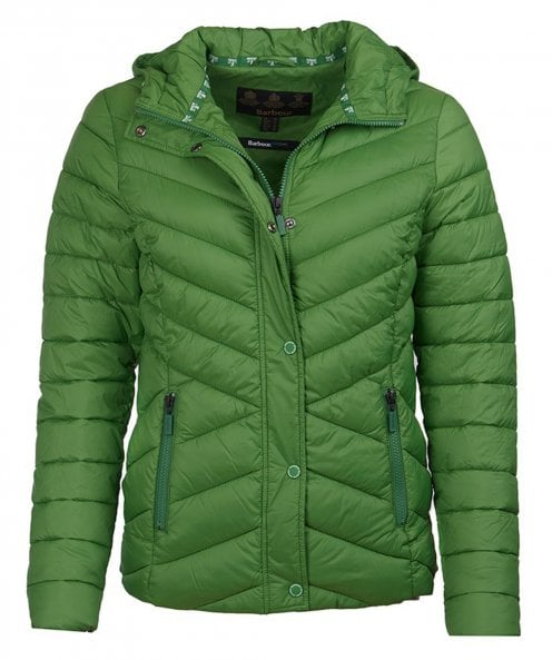 Barbour Isobath Hooded Quilted Jacket