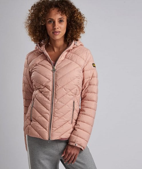 Barbour International Durant Quilted Hooded Jacket